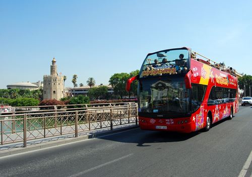 Bus turístico Sevilla, city sightseeing Sevilla