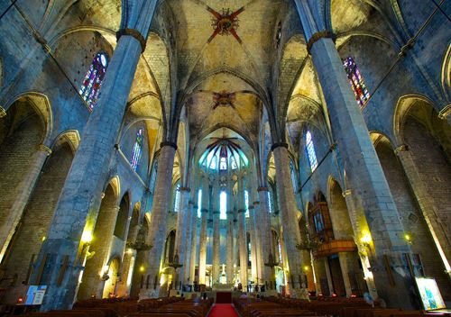 Visit Cathedral of the Sea, tour Cathedral of the Sea, guided visits Cathedral of the Sea