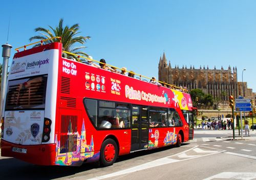 visits tours tickets online book get purchase buy Tourist Bus City Sightseeing Palma de Mallorca