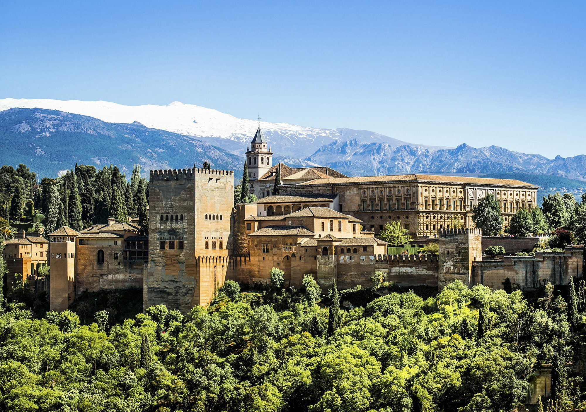 Guided tour semiprivada guided tour to the Alhambra and Granada with trasalados transport tickets tickets nazaries palaces from the Costa del Sol Malaga Torremolinos Benalmádena Marbella Fuengirola Mijas Elviria Puerto Banús Estepona