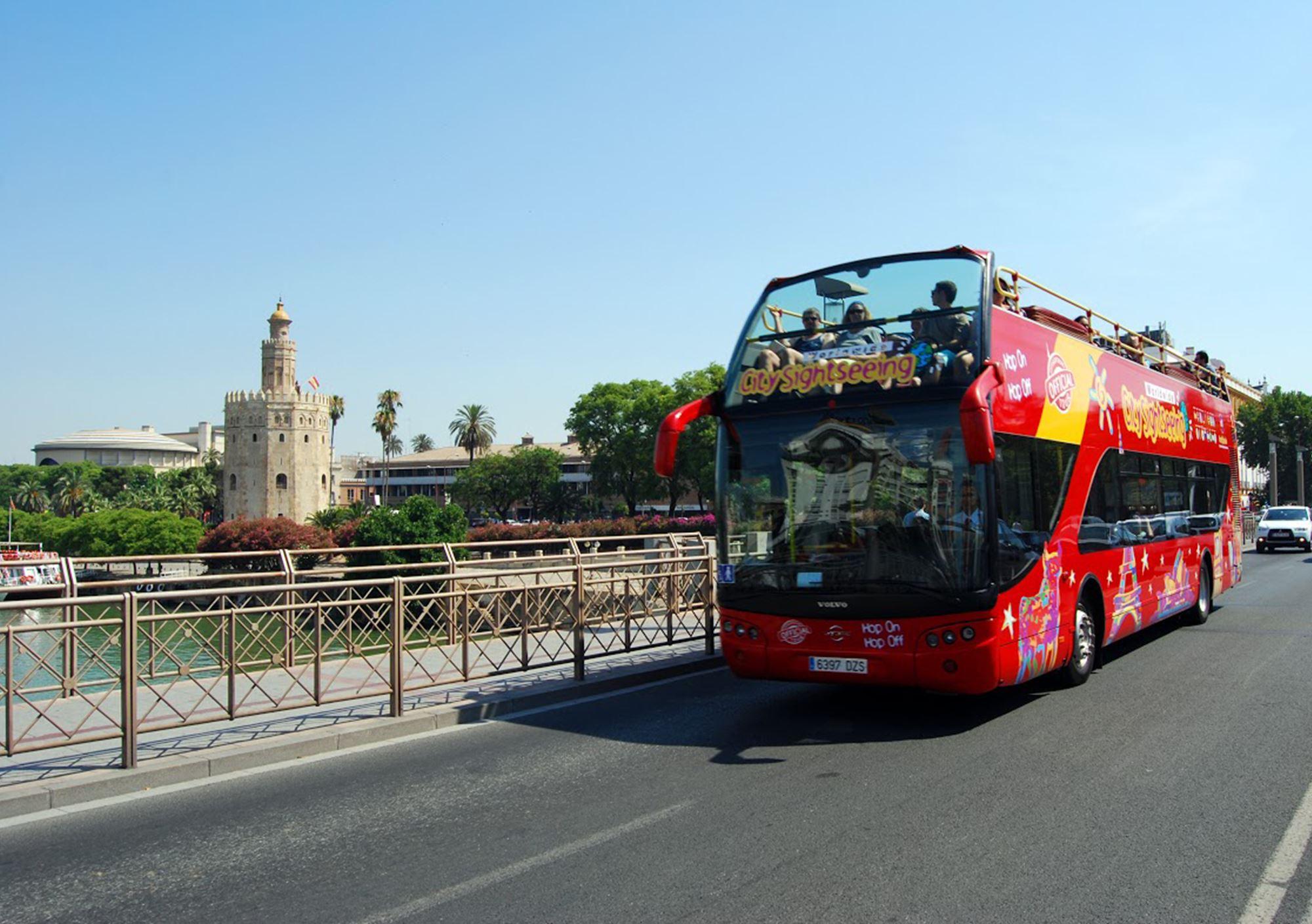 reservar online Bus Turístico City Sightseeing Sevilla