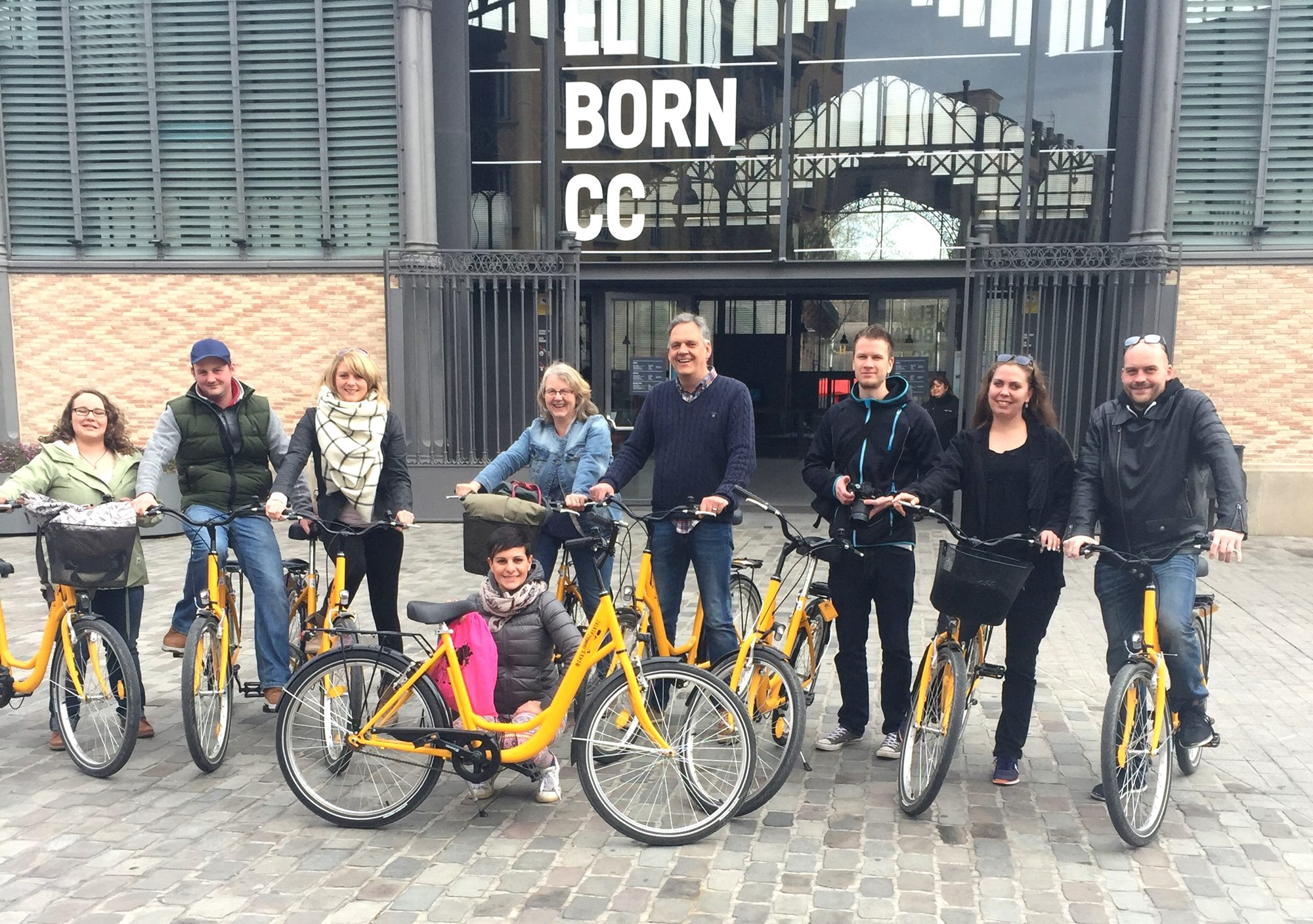 book online Down Town Ocean Barcelona Bike Tour visit
