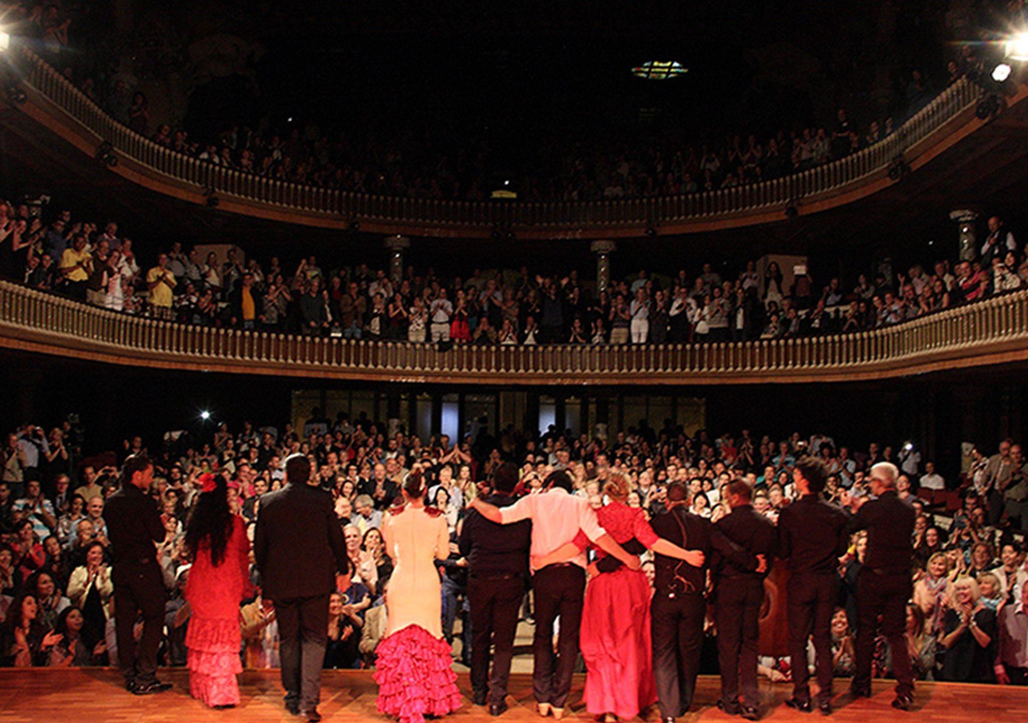 espect culo pera y flamenco en el teatre poliorama de On espectaculos teatro barcelona