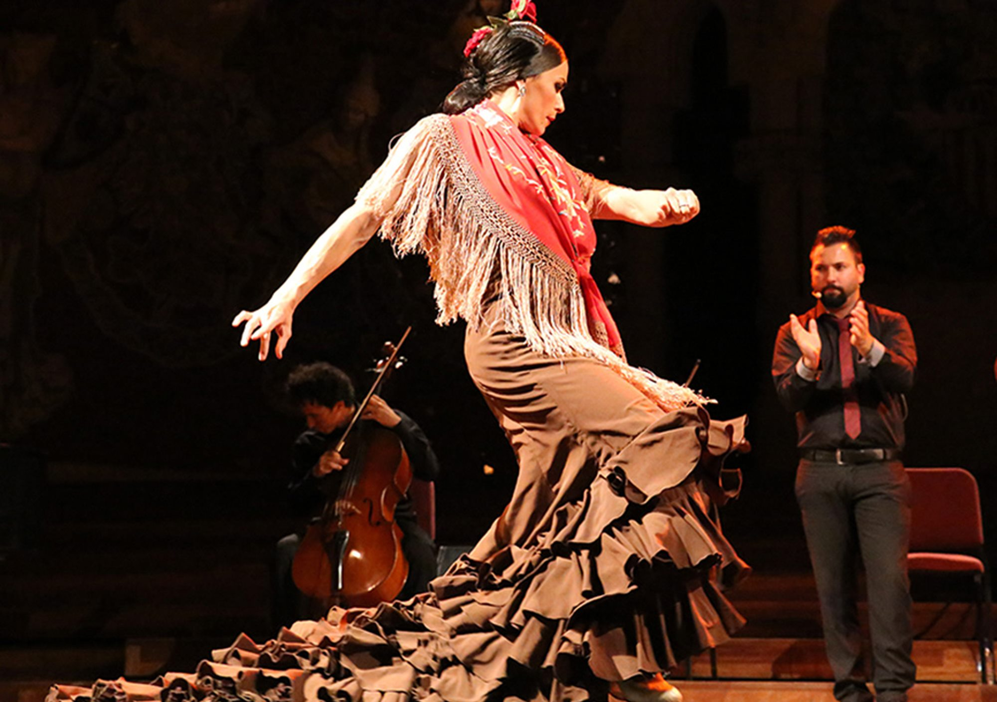 Opera & Flamenco show in Palau de la Música Catalana get buy tickets online visit spectacle