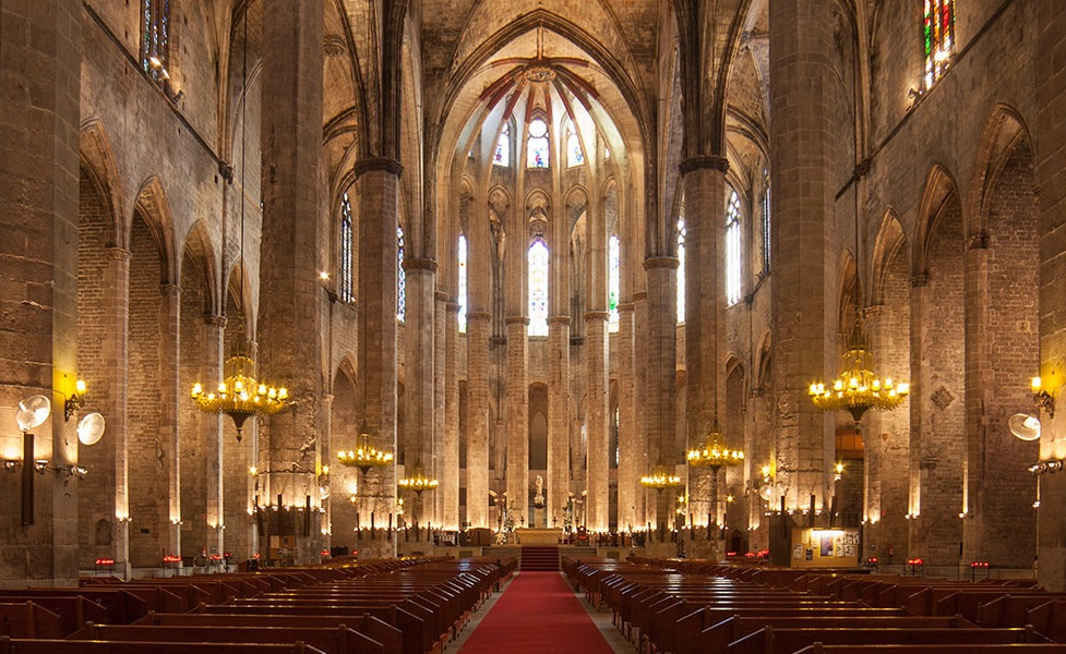 booking guided visits The Cathedral of the Sea barcelona